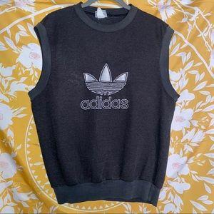 VINTAGE Adidas Originals Sleeveless Sweatshirt